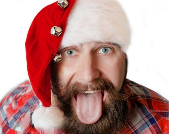 Griswold Style Santa Hat furry, crazy, cool