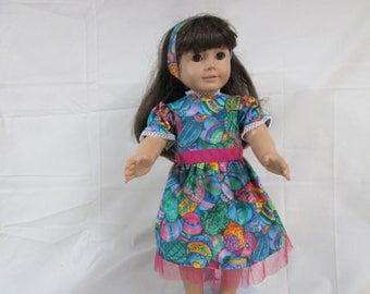 Easter dress for 18 doll