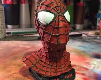 Bust Spiderman 3D print