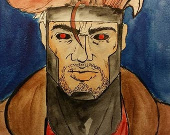 Gambit watercolor