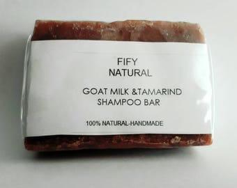 Goat milk& tamarind Shampoo bar
