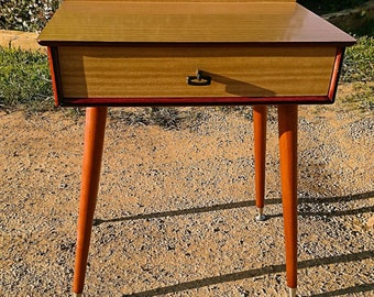 Restored / Re-Modelled Mid Century, Atomic-style Hall, Telephone, Bedside Table