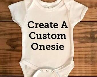 Create a custom onesie