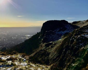 The Cave Hill Belfast - Northern Ireland Greetings Cards
