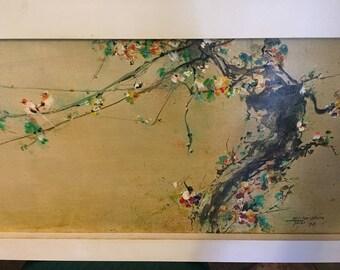 Hsiao-Hsia Tsai Impressionistic Oil