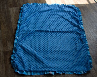 Stargazer ruffle blanket