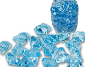 450g Acrylic Ice Crystal Scatters - Vase Fillers or Craft Supplies | Many Colours Available