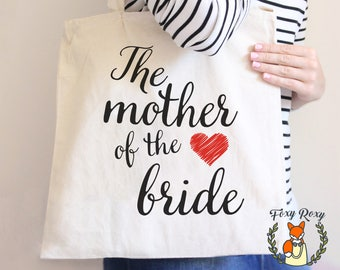 Mother Of The Bride Tote, Mother Of The Bride Tote Bag, Custom Mother Of The Bride Bag, Mother Of the Bride Gift, Custom Tote Bag, TB-018