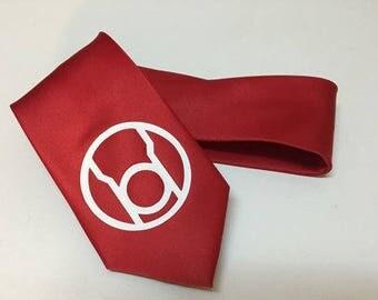 Red Lantern Necktie