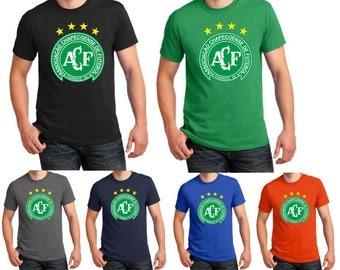 FC Chapecoense T shirt Brazil Football Soccer Tribute Birthday Gift 8 Colors Men Tee Top S-5XL