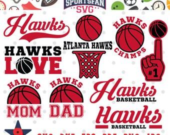 Atlanta Basketball collection svg, dxf, jpg, png, basketball mom dad, basketball team, cricut file, silhouette file, cutting file tshirt