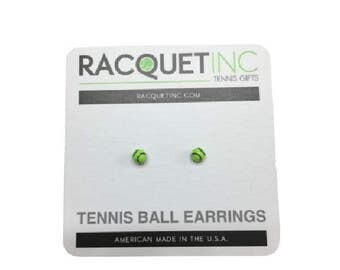 Racquet Inc - Tennis Ball Earrings
