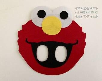 Elmo Party Masks, Elmo Birthday Party, Elmo Party Decorations, Elmo Party Favors, Elmo Party, Sesame Street Birthday, Elmo, Elmo Birthday