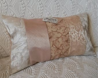 Romantic Cushion cover, pillowcase chic fabrics, cushion designer French
