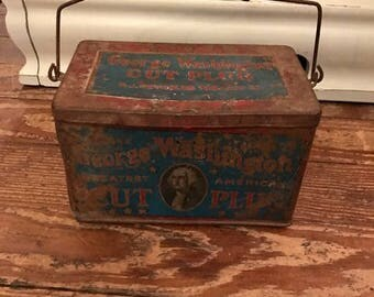 Vintage George Washington Tin