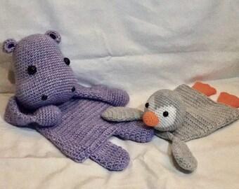 Cute crochet ragdolls