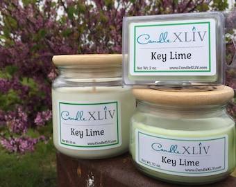 Key Lime Soy Jar Candle