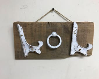 Upcycled LOL sign made from barnwood and recycled items