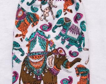 Elephant Kitchen Towel - Crochet Top