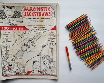 Vintage Magnetic Jackstraws - Smethport Specialty Co.