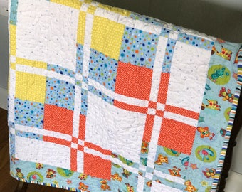 Baby Quilt // Nursery Bedding // Ready to ship
