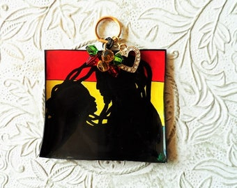 One love rasta pendant