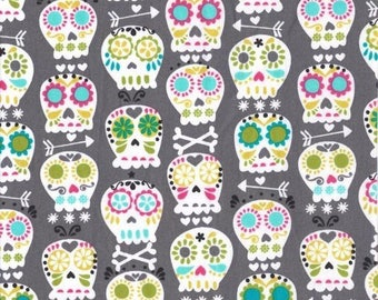 Fat Quarter Bonehead by Michael Miller Fabrics Cotton Quilting Fabric