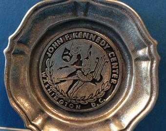 JFK pewter plate 1976