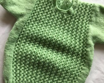 Hand knitted toddler sweater 2-4years