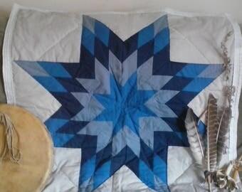 Baby Star Quilt Lakota Hand Made