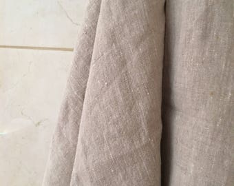 Thick rustic Linen bath towel, Spa/sauna linen towel, Heavy weight thick linen towel, Washed soften linen towel, Natural color flax