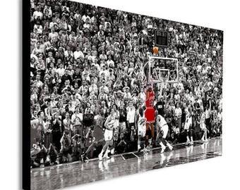 Michael Jordan Canvas Wall Art Print - Various Sizes