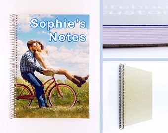 Personalised Notebook: Custom Photo Cover in A4 and A5
