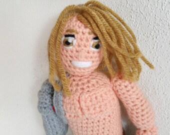 Edward Elric the Fullmetal Alchemist Amigurumi Crochet Pattern