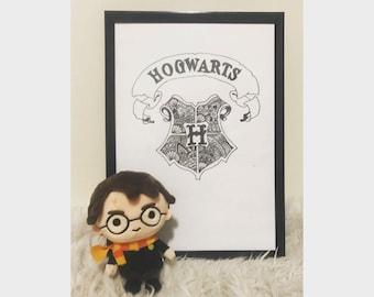 Zentangle Hogwarts - Print