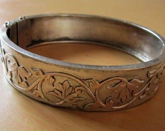 Vintage 1900 in sterling silver bracelet