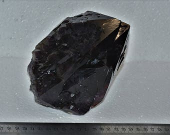Block black Amethyst