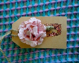 Hand crafted wedding tags