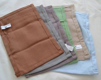 High Quality Tea Towel. Hand-made. Organic Tea Towel. Home Decor. Multi-colored Tea towel - Set Of 5