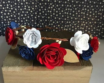 Headcrown,Headband,4th of july headband
