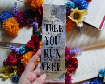 hanging tree hunger games bookmark