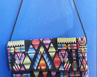 Guatemalan Textile Folding Purse