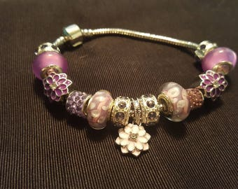 Purple Dangle Daisy