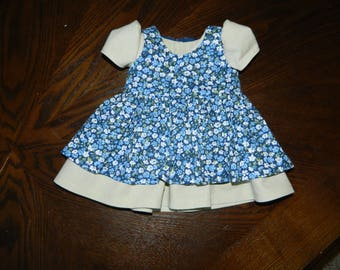 Dress with Pinafore