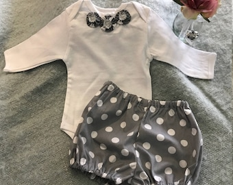 Baby Girls Yo-Yo Bodysuit and Bloomer Set