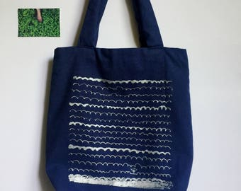 Look from fog Tote Bag