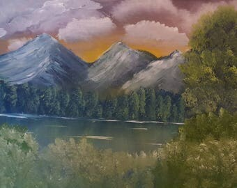 Bright Skies- Original Landscape Oil Painting Direct From The Artist