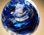 Seahawks colors paperweight