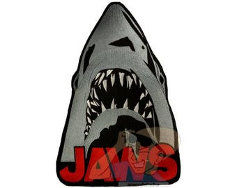 Jaws Embroidered Big Patch for Back Horror Movie Shark Attack