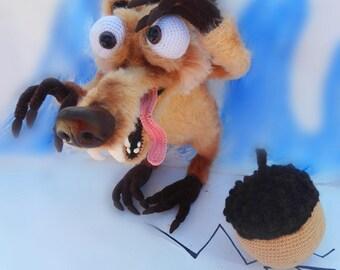"Skrat hero of the animated film ""Ice Age"""